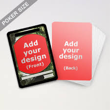 custom card game printing and manufacturer