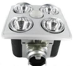bathroom exhaust heater fan infrared heat lamps
