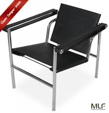 2017 mlf le corbusier lc1 basculant sling chair backrest movable