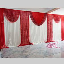 compare prices on wedding curtain backdrop with swags online