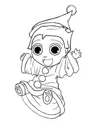 cute elf coloring pages printable coloringstar