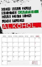 sprüche kalender freche sprüche kalender 2018 2 blechschilder kalender bestellen