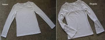 Super DIY Camiseta customizada com renda by Customização & Cia - YouTube &OU99