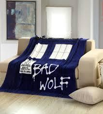 Dr Who Duvet Home Textile Children Quilt Doctor Who Tardis Anime Blanket