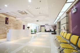 Modern Lobby by Modernization Of The Office Lobby Reception Area Stock Photo