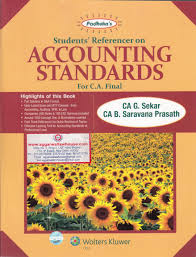 students referencer on accounting standards for ca final by g