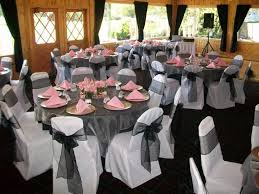 table covers for weddings impressive white chair covers and tablecloth with organza sashes