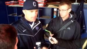 uconn baseball april 7 2015 jim penders post game youtube