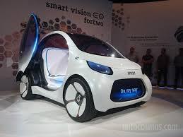 auto show de frankfurt 2017 smart vision eq fortwo el futuro de