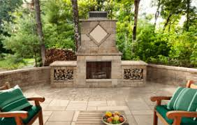 Outdoor Fireplace Designs - outdoor fireplaces u0026 fire pit design in central nj