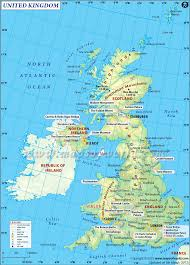 map uk map uk uk major tourist attractions maps