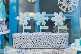 whimsical winter wonderland party