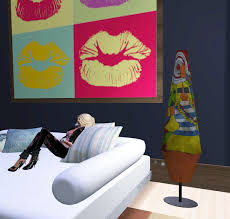 Funky Floor Lamps Second Life Marketplace Funky Girl Floor Lamp