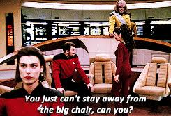 Riker Chair Star Trek Tng Riker Will Riker Deanna Troi Trekedit By Ted