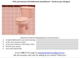 retro pink bathroom ideas 12 ideas to decorate a pink and gray vintage bathroom retro