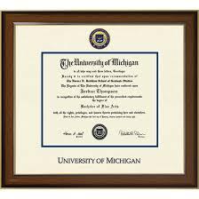 of michigan diploma frame of michigan diploma frame westwood medallion bach