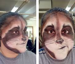 Old Man Halloween Makeup by Stage Makeup Raccoon Http Stjost Deviantart Com Art Stage