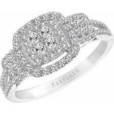 walmart white gold engagement rings walmart keepsake rings wedding promise