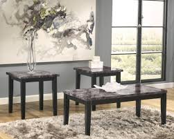 American Freight Marble Stone Top Coffee And End Tables Faux Table Sets T Thippo