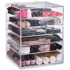 makeup storage makeup storage organizer cases ideas for bathroom