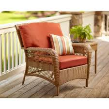 Patio Lounge Chair Cushions Furniture Appealing Wicker Chair Cushions For Cozy Patio
