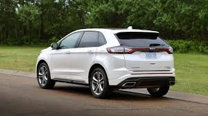 ford edge crossover 2017 ford edge test drive review