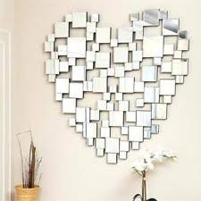 Large Decorative Mirrors Glass Heart Decorative Mirrors Ebay