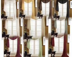 curtains ideas sheer swag curtains inspiring pictures of