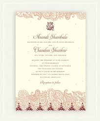 indian wedding invites indian wedding invitations on seeded paper shantih by