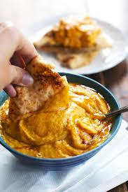 roasted garlic rosemary pumpkin hummus recipe pinch of yum