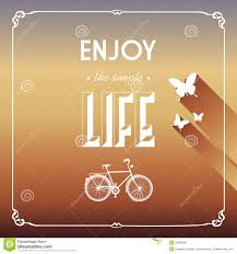 vintage life style elements poster royalty free stock images