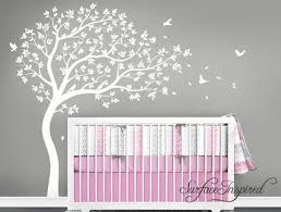 Tree Nursery Wall Decal Wall Decal Tree Large Whimsical Tree Nursery Wall Decal For