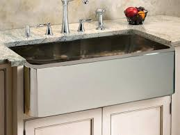 Stainless Steel Apron Front Kitchen Sinks Stainless Steel Farmhouse Kitchen Sinks Emergingchurchblogs Info