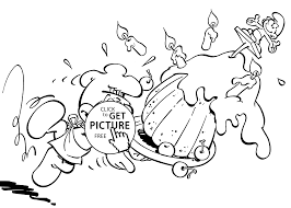 funny smurfs coloring pages kids printable free coloing