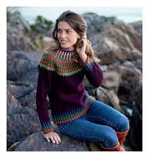 fair isle knitted things fair isle style book review