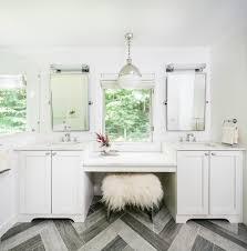 bathroom simple and neat design ideas with bathroom vanity stool