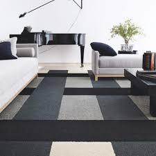 tappeti design moderni tende per salone contemporaneo bianco e nero tappeto da salotto