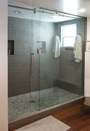 senior sliding shower door system for residential pro