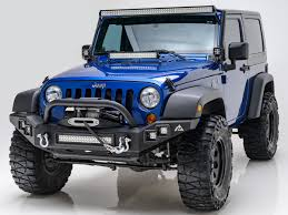 jeep light bar bumper paramount automotive debuts full width bumper for 2007 16 jks