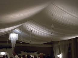 Ceiling Drapes For Wedding Indoor False Ceilings Fabric Ceilings And Walls For Wedding Or