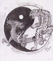 and tiger yin yang by drawinforfun on deviantart