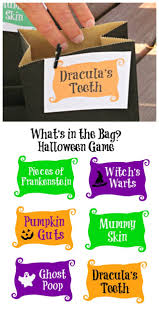 Halloween Games Printable Halloween Toucy Feely Guessing Game W Free Printable