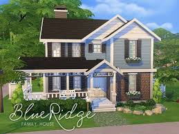 family and home the sims resource blue ridge family house by smubuh sims 4