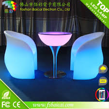 Led Bistro Table Square Glass Top Led Bistro Table For Sale Led Glass Bar Table Led