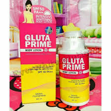 Gluta Vir gluta prime lotion preloved health skin bath on