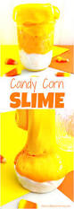 how to make candy corn slime recipe natural beach living