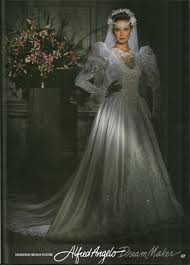 wedding dress makers alfred angelo maker of 1992 1990 s wedding gowns