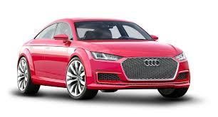 pink audi red audi tt sportback car png image pngpix