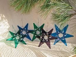cindi hardwicke fused glass star ornaments for hanukkah