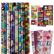 rolls of wrapping paper 12 rolls all occasion wrapping paper bulk set variety pack gift